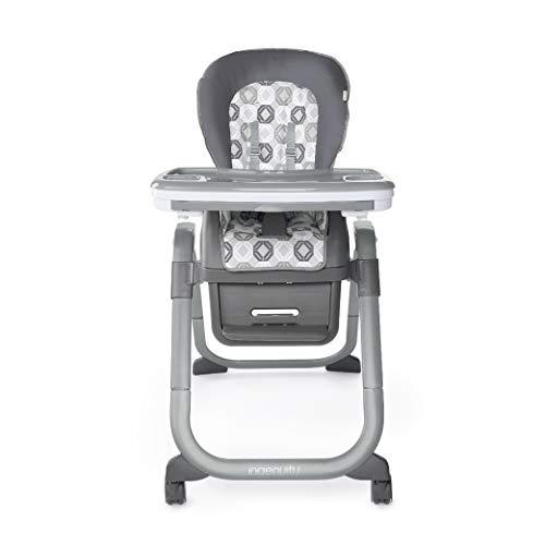 Ingenuity, Clayton 4 in 1 Hochstuhl, Kindersitzerhöhung, Kleinkinderstuhl oder gleichzeitig als Sitz für zwei Kinder nutzbar