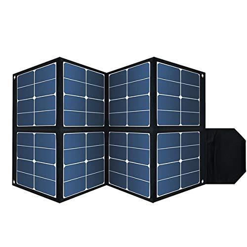 SUNGZUソーラーパネル100w、SUNGZUポータブル発電所1000w、ポータブルソーラー充電器防水、折りたたみ式ソーラーパック32-36V DC出力(SD100)