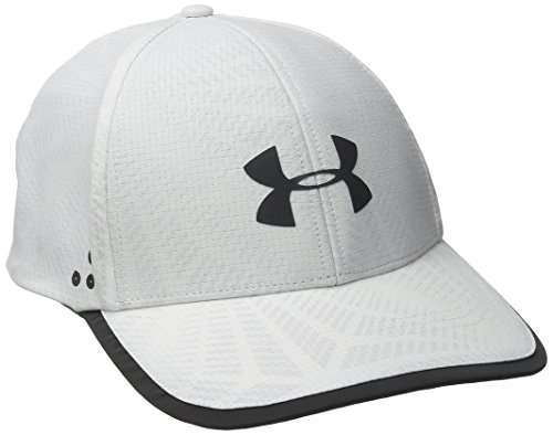 Under Armour Men's Flash ArmourVent 2.0 Cap, White (100)/Black, One Size