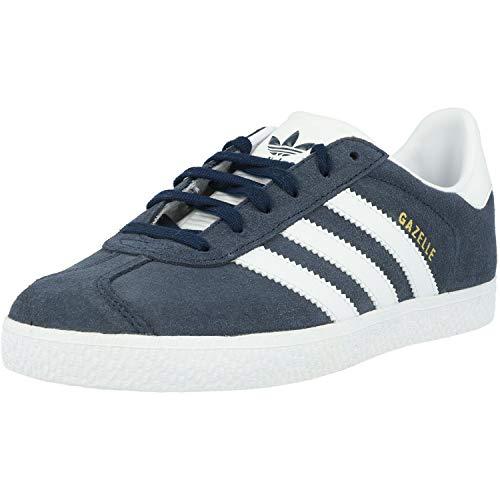 adidas Jungen Unisex Kinder Gazelle Sneaker, Blau (Maruni/Ftwbla 000), 34 EU
