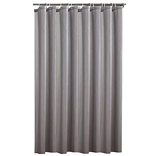 Fablcrew Duschvorhang, wasserfest, mit Haken, antibakteriell, Duschvorhang, für Badezimmer, 200 x 220 cm