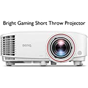 BenQ TH671ST 1080p Short Throw Gaming Projector | Gaming Mode for Intense Low Input Lag Action | 3000 Lumens for Lights On Entertainment | 92% Rec. 709 for Accurate Colors