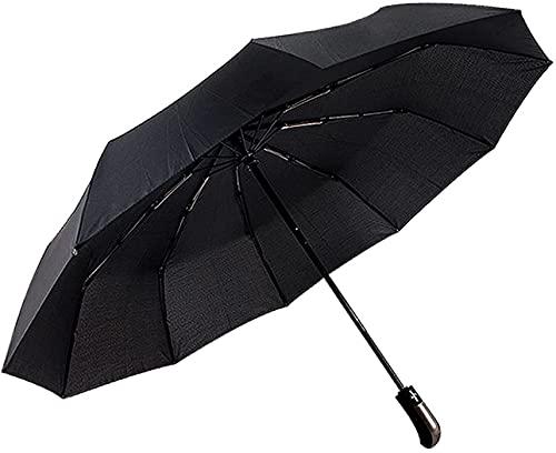 Paraguas, Hombres paraguas para hombres Masculino grande lluvia lluvia y sol día verano paraguas klaasloketten paraguas caña masculino masculino masculino claro grande (color: misterioso púrpura) (Col