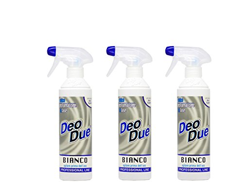 Desodorante ambiental Deo Due, blanco 500 ml, 3 unidades