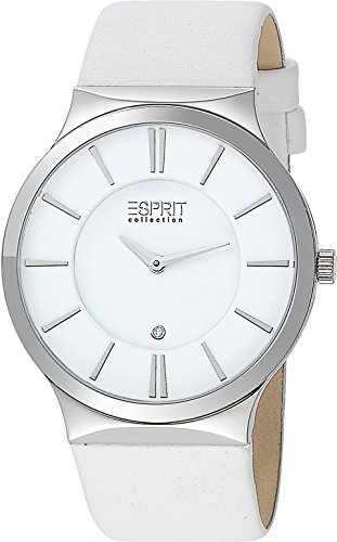 Esprit Collection Quarzuhr Woman weiß 38 mm