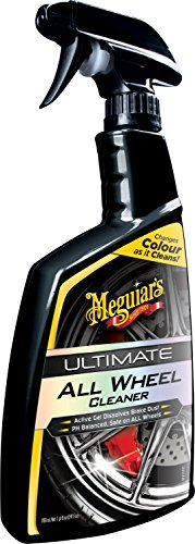 Meguiar\'s G180124EU Ultimate All Wheel Cleaner Felgenreiniger, 709 ml