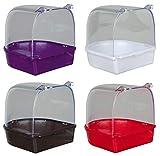 Trixie 5401 Bagnetto coperto, semicircolare, Plastica,  Colori assortiti...