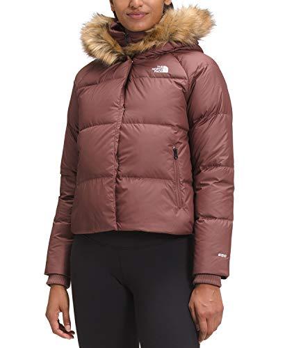The North Face Women's Dealio Down Crop Jacket, Marron Purple, L