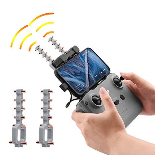O'woda Yagi-UDA Antenna Telecomando Segnale Booster Gamma Extender Amplificatore Segnale Booster Trasmettitore 5,8 GHz per DJI Mavic Mini 2 / Mavic Air 2S/ Air 2 / Mini SE (Grigio)