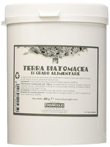 Erbavoglio Terra Diatomacea di Grado Alimentare - 400 gr