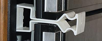 Adjust-A-Brush No Mold Refrigerator Door Holder