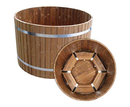 bambus-discount.com Badefass Standard mit einem Durchmesser von 150cm - für Holzbadefass Badefässer Badefass für draussen Badetonne Hot Tubs Badebottich Holzbadewanne