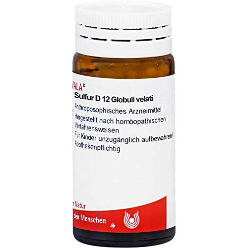 WALA Sulfur D12 Globuli velati, 20 g Globuli
