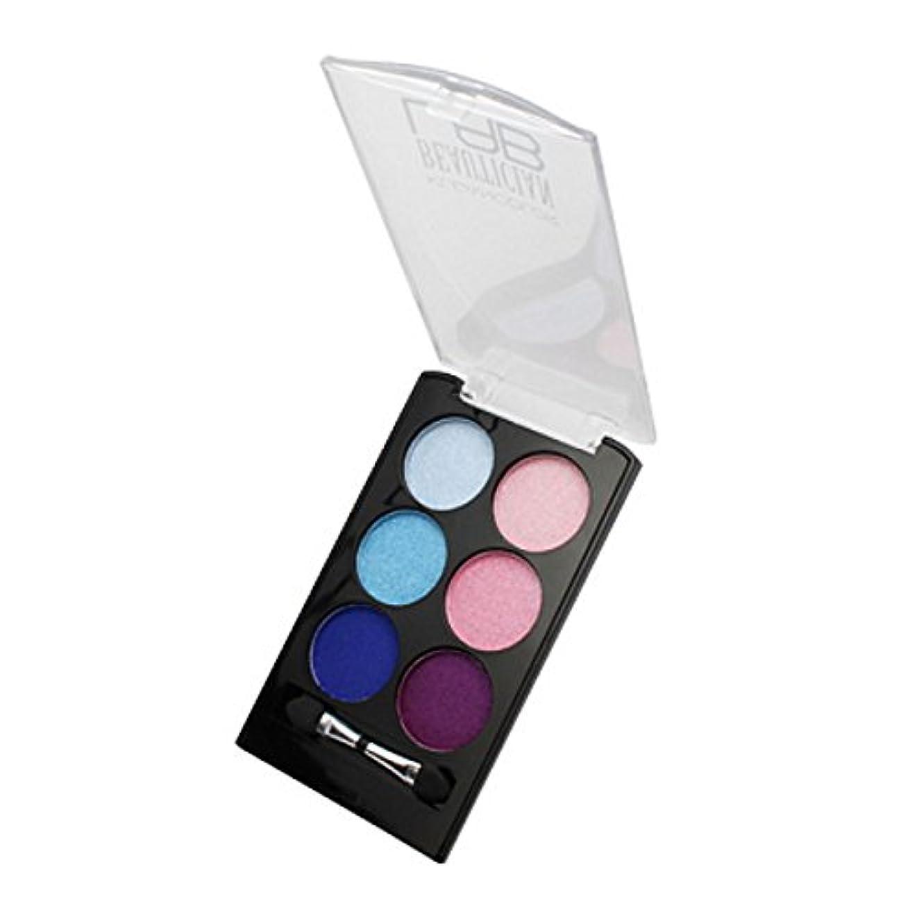抜本的な酸っぱい息切れ(3 Pack) KLEANCOLOR Beautician Lab Shimmer Shadow Pallete - Innovative (並行輸入品)