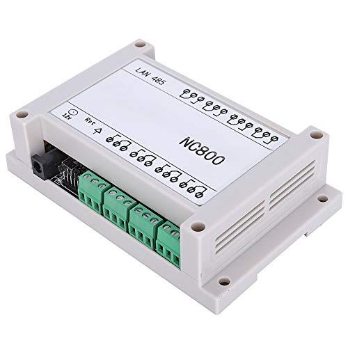 Weikeya Controlador Remoto TCP/IP Activo, plástico de 145 * 90 * 40 mm y PCB Hecho 9V ~ 40V DC 250V (Blanco)