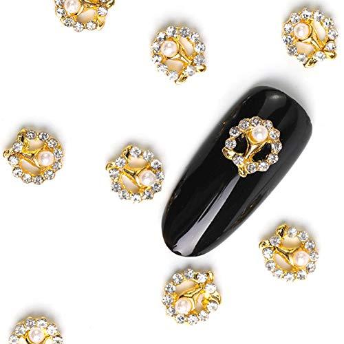 N-A 10 pièces conceptions Arrive Goutte Nail Art 3D Cristal gemme décoration Strass Bijoux pour decoracion