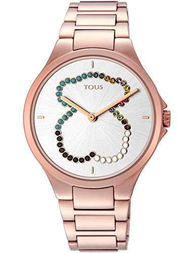 Tous Reloj Motion Straight SS ESF Oso Cristales (Motion Stra