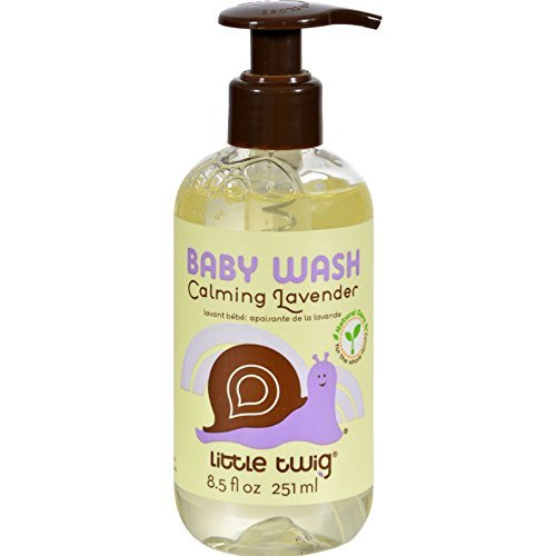 LITTLE TWIG BABY WASH,LAVENDER, 8.5 FZ