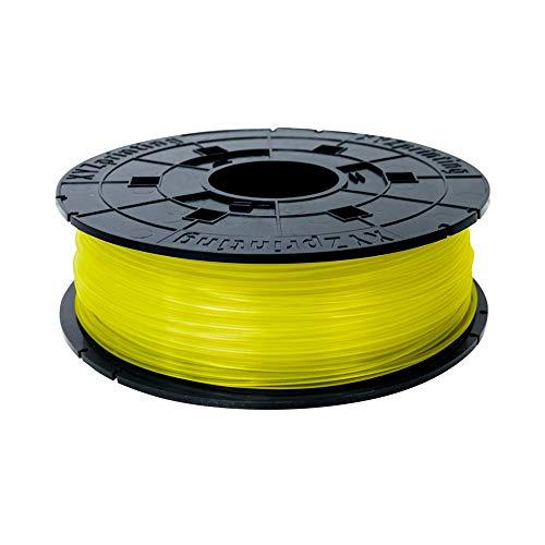 XYZprinting RFPLAXEU00E Filamento PLA, 600 gr, 12 Piezas, Amarillo Claro