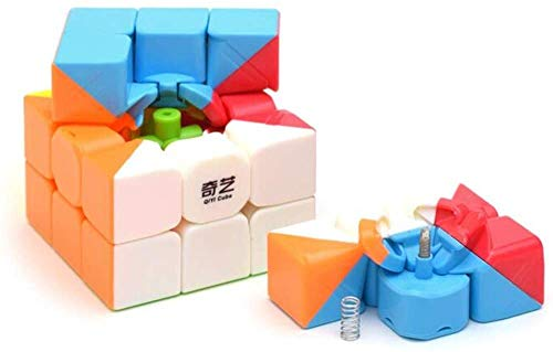 Cubelelo QiYi Warrior 3x3 Stickerless Magic Speed Cube 3x3x3 Puzzle 4