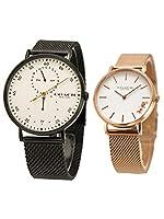【コーチ 】 COACH ペアウォッチ(2本セット)腕時計 ステンレスメッシュベルト メンズ 41mm & レディース 32mm 14602480 14503425 [並行輸入品]