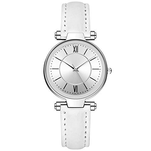 Relojes Para Mujer Relojes elegantes de las mujeres Reloj de cuarzo de cuero casual para las mujeres vestido de moda pulseras reloj de pulsera reloj de señoras Relojes Decorativos Casuales Para Niñas