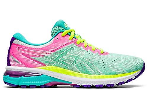 ASICS Women's GT-2000 8 Running Shoes, 9M, Fresh Ice/White