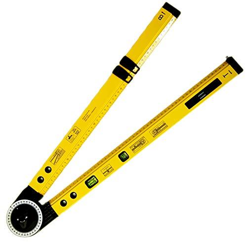 Winkelmesser Winkel Wasserwaage Gradmesser 500mm Messgerät messen bis 270°