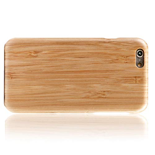 WOLA für iPhone 6 Plus / 6s Plus Holzhülle AIR Handyhülle aus Aramid und Holz - Bambus Bambus
