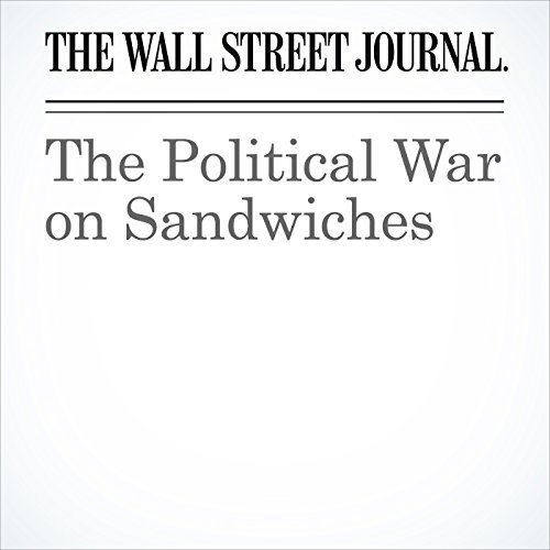 The Political War on Sandwiches copertina
