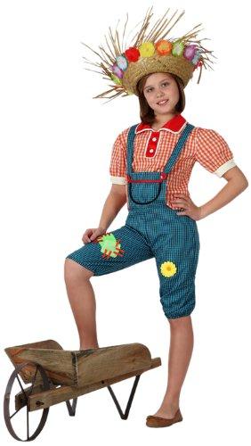 Atosa - Disfraz de granjera para niña, talla 7-9 años (16022)