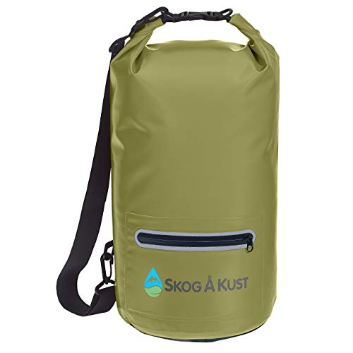 Skog Å Kust DrySak Waterproof Dry Bag | 10L Army Green