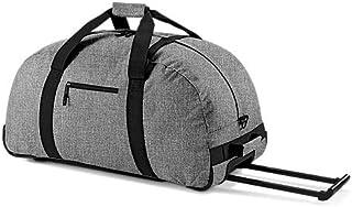 Bagbase Wheelie Holdall/Duffle Bag (105 Litres) (UK Size: One Size) (Grey Marl)