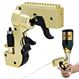 Champagne Gun,The Third Generation,Adjustable Champagne Gun Shooter,Champagne Spray Gun,Beer Gun Shooter with Longer Shooting Distance,Sprayed Under Without Air Pressure,Atmosphere Props