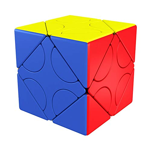 AKDSTEEL - Cubo de plástico con forma de cubo de 3 x 3 cm, magnético, 120 grados de rotación, puzle Toy Number 1, Exquisite Importable Ocasión Gift