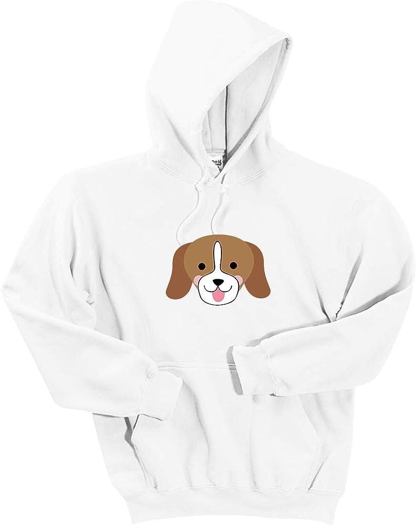 INK STITCH Unisex Dog DryBlend Pullover Hoodie Sweatshirts - Multicolors