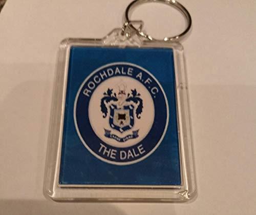 Rochdale FC Football Key Ring