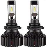 zodoo LEDヘッドライト HB4(9006) 車検対応 切替タイプ 高品質LUXEON ZES CHIP搭載 一体式 30W×2 8000Lm×2 6500K ホワイト DC9-32V 2個セット 保証1年 T8-HB4