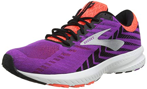 Brooks Damen Launch 6 Laufschuhe, Violett (Purple/Black/Coral 542), 39 EU