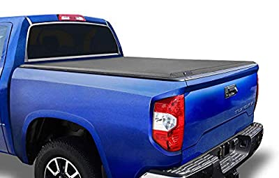 Tyger Auto T3 Soft Tri-Fold Truck Bed Tonneau Cover for 2007-2013 Toyota Tundra Fleetside 6.5' Bed TG-BC3T1033