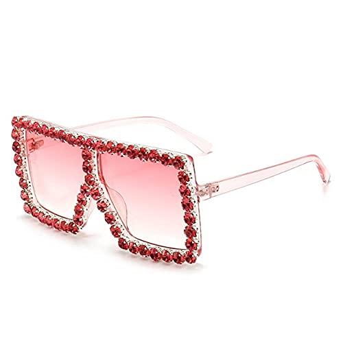 ZZZXX Photochrome SonnenbrillePromi-Sonnenbrille Mit Diamantbesatz Frauen Uv-Schutz Sonnenbrille Uv400, Damen, Herren ,Unisex Elegant Sonnenbrille