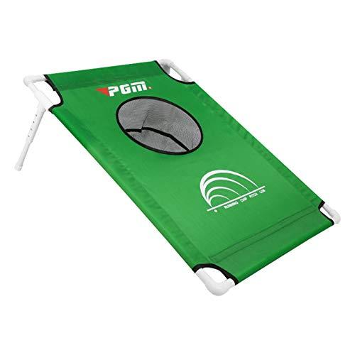 kioski Backyard Golf Cornhole Game, Adjustable Golf Chipping Net, Outdoor/Indoor Golfing Target Accessories and Backyard Practice Swing Game