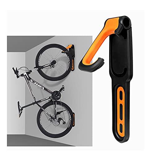 Bicicleta Colgando Soporte Ajustable Ahorro Espacio Ciclo de almacenamiento Mostrando Montaje de Pared Estacionamiento Soporte ABS Scratch Prueba de carga Cuelga, Pared Deportes al aire libre