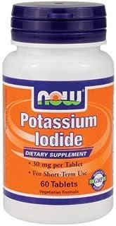 Now Foods ナウフーズ ヨウ素 60錠入り Potassium Iodide 60 Tablets (海外直送品)