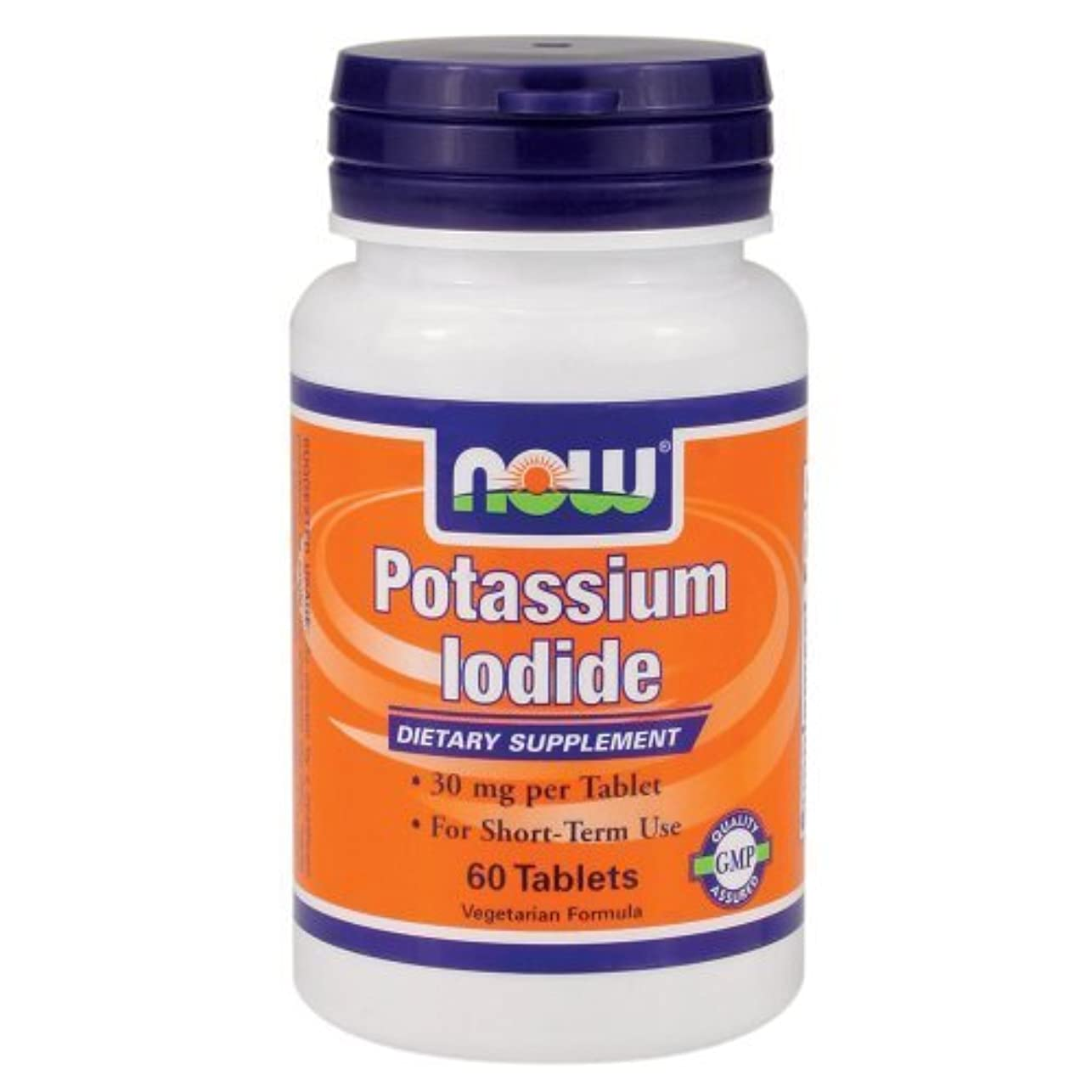 メトロポリタン中級医学Now Foods ナウフーズ ヨウ素 60錠入り Potassium Iodide 60 Tablets (海外直送品)