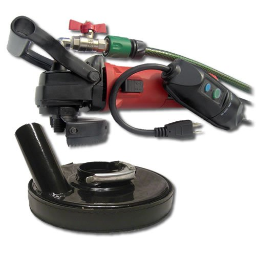 Find Discount SECCO WVDGRIN Variable Speed Wet Polisher Kit