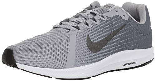 Nike Men's Downshifter 8 Running Shoe, Wolf Grey/Metallic Dark Grey/Cool Grey, 10.5 Regular US