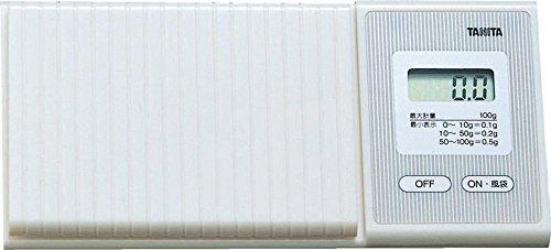 タニタ スケール はかり 携帯 日本製 100g 0.1g単位 ポケッタブルスケール 1476 WH