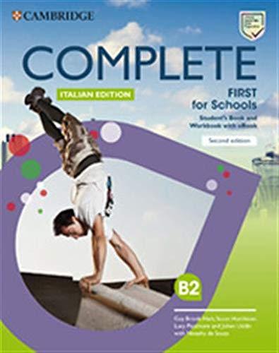 Complete First for schools. Student's book/Workbook. Con INVALSI B2. Per le Scuole superiori. Con e-book