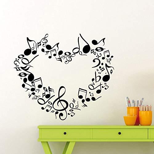 Yaonuli muziekinstrumentkunst van vinylloopkleefuitgangingsruimte jeugdig kinderdecoratieset